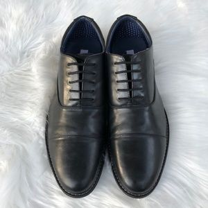 Steve Madden Men's Cap Toe Oxford Black Size 12D